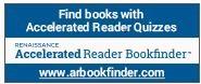Accelerated Reader Bookfinder logo with web address www.arbookfinder.com